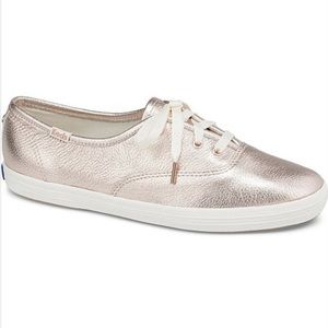 Kate Spade by Keds Metallic Gold Sneakers size 7